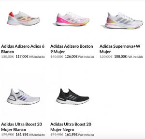 ApalaRun zapatillas running Adidas mujer